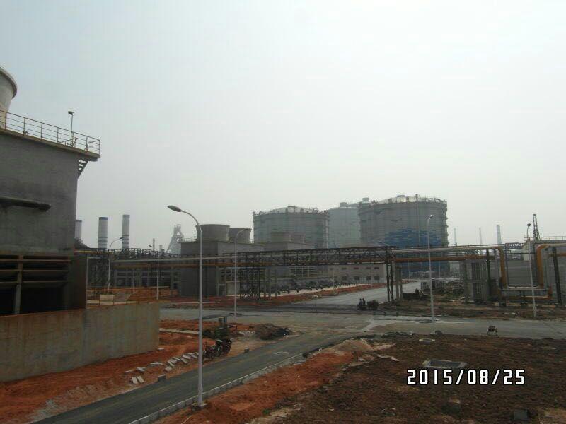 遍布宝钢湛江工厂的皖南电机
